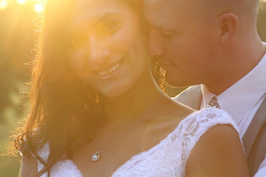 Wedding Morning Sun