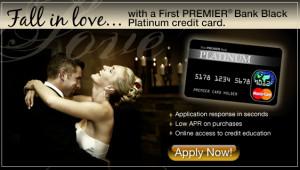 First PREMIER Bank Black Platinum