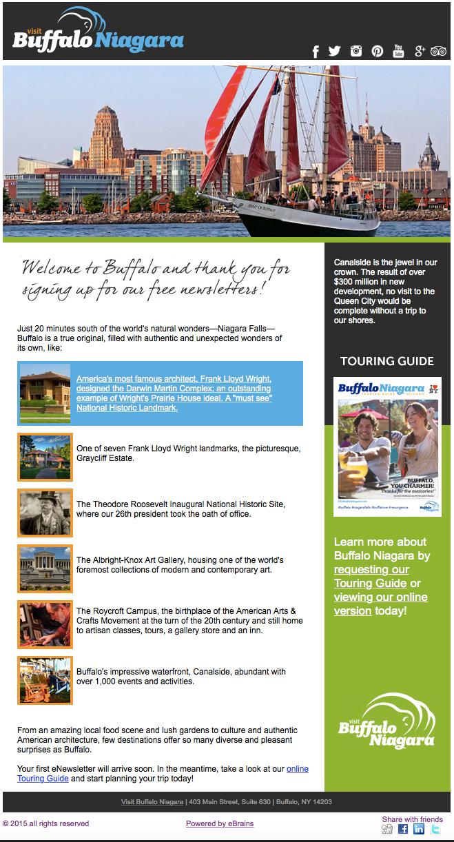Buffalo Niagara Tourism